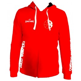 Spalding Team II Jacket 4Her RED